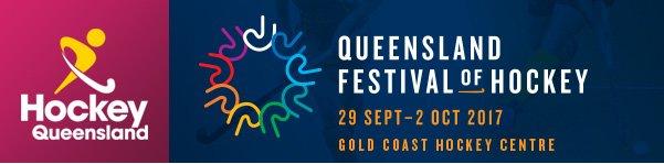 Qld Festival of Hockey Banner 2017