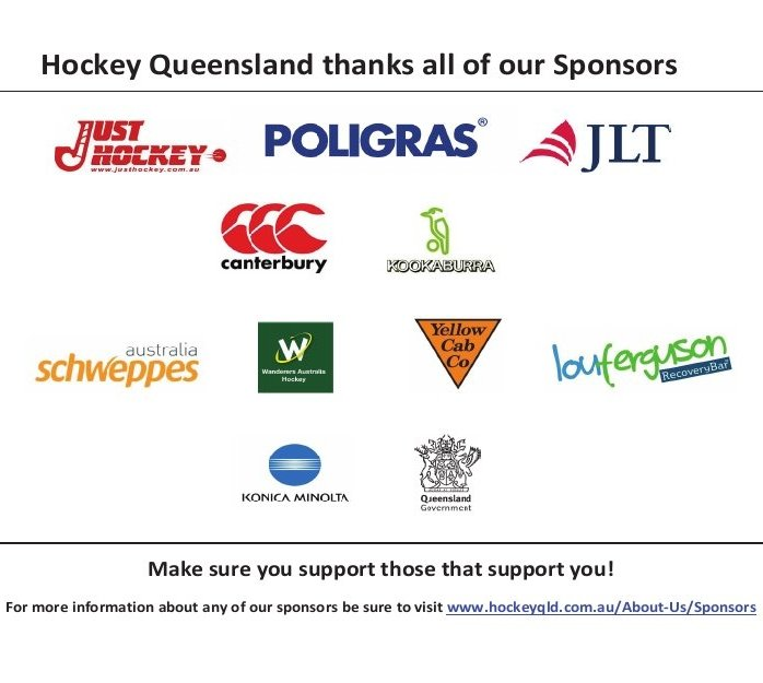 Support your sponsors ...
